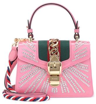 Gucci Sylvie Mini satin shoulder bag
