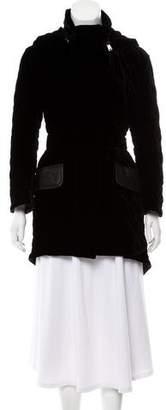 Fendi Quilted Velvet Jacket