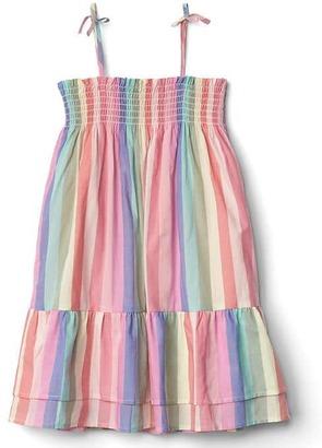 Stripe tier smock dress $39.95 thestylecure.com