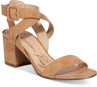 American Rag Caelie Block-Heel Sandals, Only at Macy's $59.50 thestylecure.com