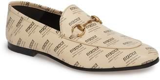 Gucci Brixton Logo Invite Loafer
