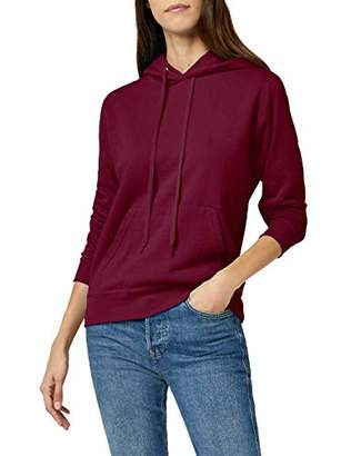 Fruit of the Loom Women's Pull-over Classic Hooded Sweat, Deep Navy, (Manufacturer Size:)