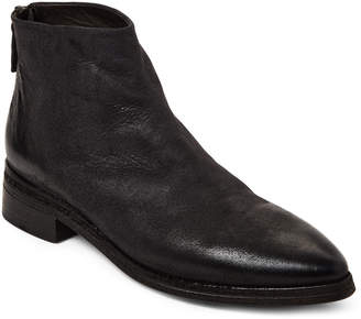 Marsèll Black Leather Pointed Toe Ankle Boots