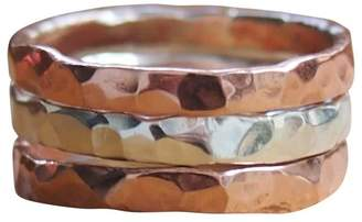 Elena Jewelry Concepts Stackable Silver I Copper II