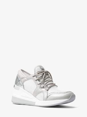 MICHAEL Michael Kors Scout Leather and Mesh Sneaker