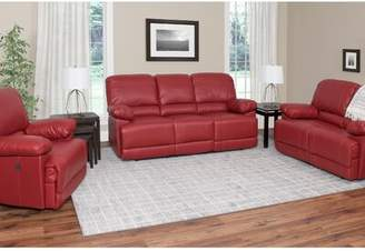 Red Barrel Studio Coyer Reclining 3 Piece Living Room Set Red Barrel Studio