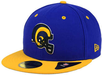 New Era Los Angeles Rams 2 Tone 59FIFTY Cap