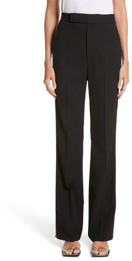 Helmut Lang Side Zip Detail Suiting Pants