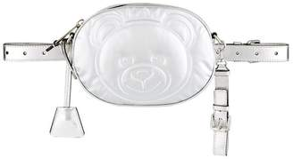 Moschino Metallic Teddy Belt Bag