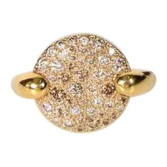 Pomellato Sabbia yellow gold ring