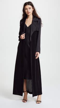 Vatanika Silk & Velvet Duster