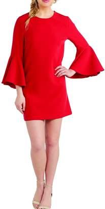 Mud Pie Brooks Bell-Sleeve Dress