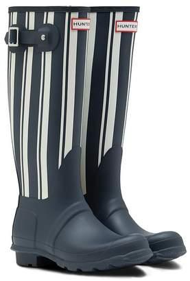 Hunter Garden Stripe Tall Boot