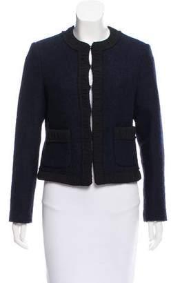 Michael Kors Structured Virgin Wool Jacket