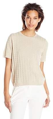 1f1f8291e40c Alfred Dunner Women s Petite Short-Sleeve Sweater Shell
