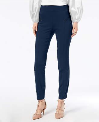 INC International Concepts I.n.c. Curvy-Fit Skinny Moto Pants, Created for Macy's