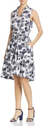 Kate Spade Shadows Floral Belted Dress