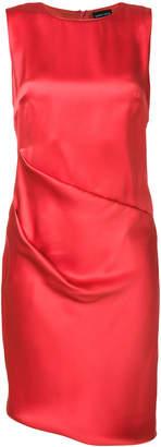 Giorgio Armani draped detail mini dress