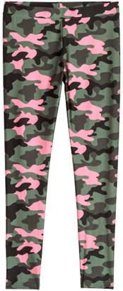 H&M Patterned Leggings - Green