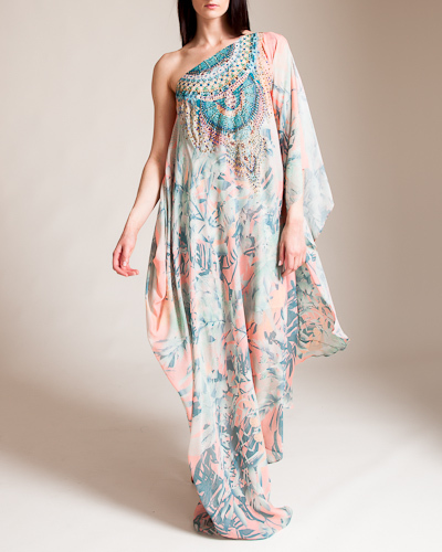 CamillaIn The Name Of The Tribe One Shoulder Drape Dress