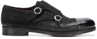 Lidfort double monk strap shoes
