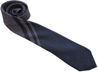 Balenciaga Blue Silk Ties