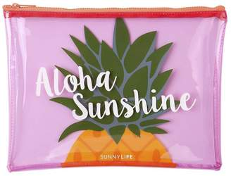 Sunnylife Pineapple beach pouch