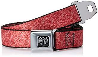 Buckle-Down Men's Seatbelt Belt Heather Kids