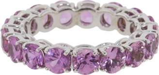 Bayco Pink Sapphire Eternity Ring