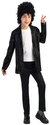 BuySeasons Michael Jackson Deluxe Billie Jean Jacket Boys Costume