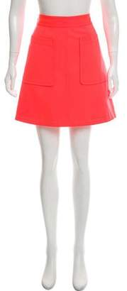 Marc by Marc Jacobs Neon Mini Skirt