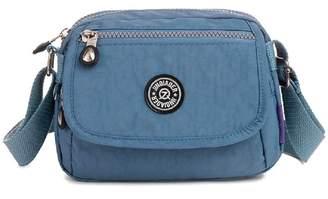 TianHengYi Mini Water Resistant Cross-body Bag Lightweight Nylon Travel Messenger  Bag for Girls 902176465c128
