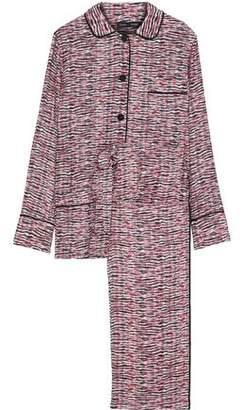 Proenza Schouler Printed Silk Pajama Set