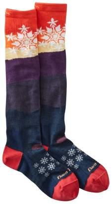 L.L. Bean L.L.Bean Women's Darn Tough Snowflake Ski Socks