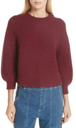 Apiece Apart Cotton & Cashmere Sweater
