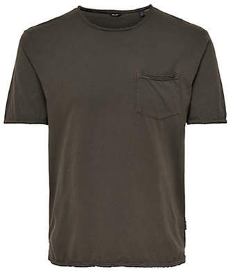 ONLY & SONS Washed Pocket T-Shirt