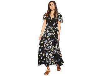Free People Gorgeous Jess Wrap Dress Women's Dress