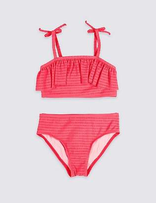 Marks and Spencer Bikini Set with Sun Safe UPF50+ (5-16 Years)
