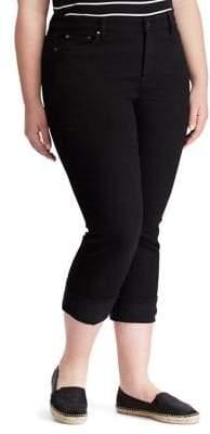 Lauren Ralph Lauren Plus Classic High-Rise Skinny Jeans