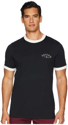 Volcom Campbell Crew Short Sleeve Knit Top Men's Clothing