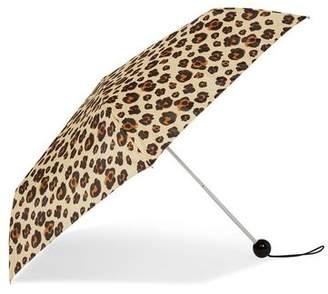 Topshop Womens Leopard Print Umbrella