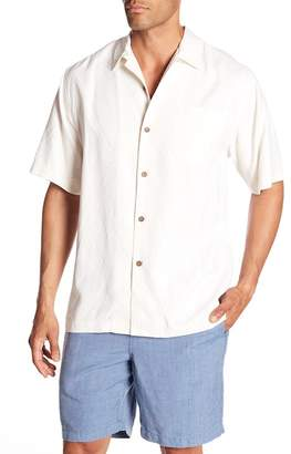 Tommy Bahama Local Watering Hole Short Sleeve Original Fit Silk Shirt