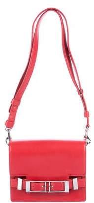 A.L.C. Smooth Leather Flat Shoulder Bag