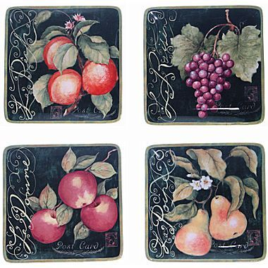 JCPenney Parisian Fruit Dinnerware Collection