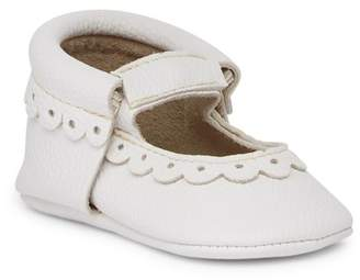 First Steps Ballerina Leather Moccasins (Baby & Toddler)
