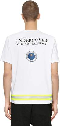Undercover Print & Patch Cotton Jersey T-Shirt