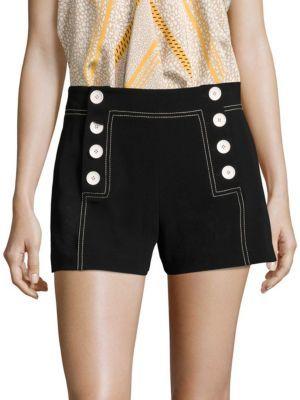 Derek Lam 10 Crosby Sailor Shorts $350 thestylecure.com