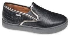 Venettini Kid's Cosmo Leather Sneakers