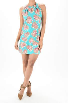 Aryeh Floral Halter Dress