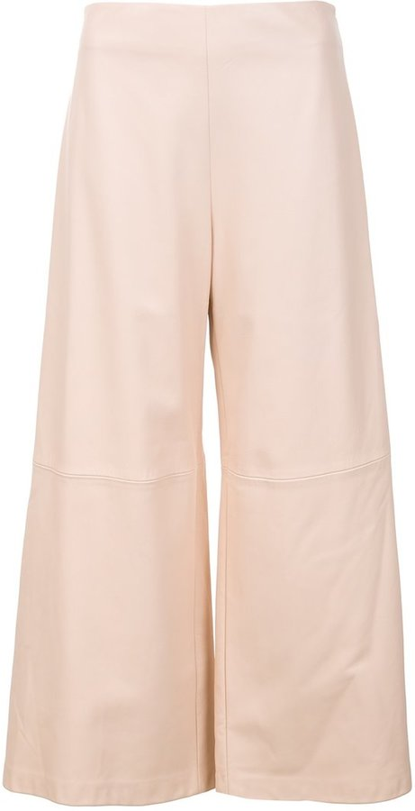ADAM By Adam Lippes Adam Lippes cropped wide-leg trousers